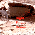 NASA photo of alien corpse on Mars?