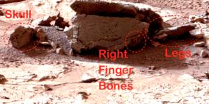 NASA photo of alien corpse on Mars?