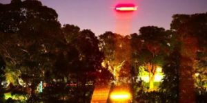 Russell Crowe UFO photograph
