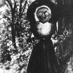 Drawing of what the Flatwoods Monster looked like to the witnesses.