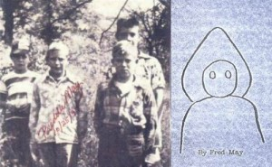 The boys who saw the Flatwoods Monster