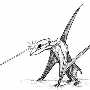 An illustration of the Van Meter Monster