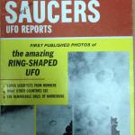 UFO hiding in clouds