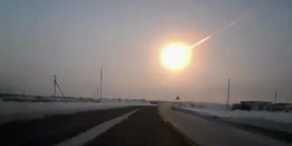 Meteorite Blowing Up