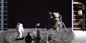 moon landing hoaxed
