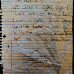 A 7 Year Olds Account Of Seeing A UFO