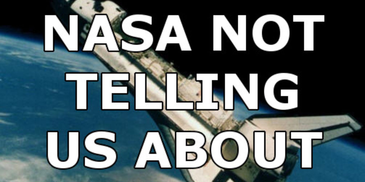 Is NASA covering up evidence of UFOs?