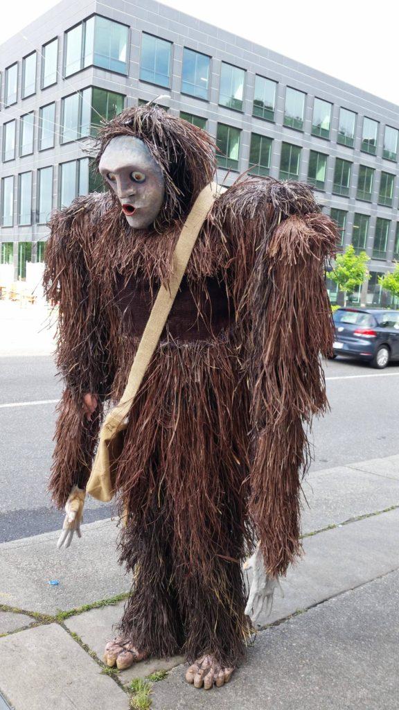 Seattle Wicker Man Sasquatch