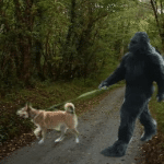 Does Bigfoot befriend dogs?