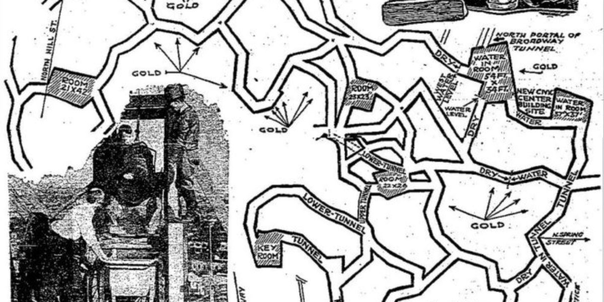 Los Angeles Lizard People Tunnels Article