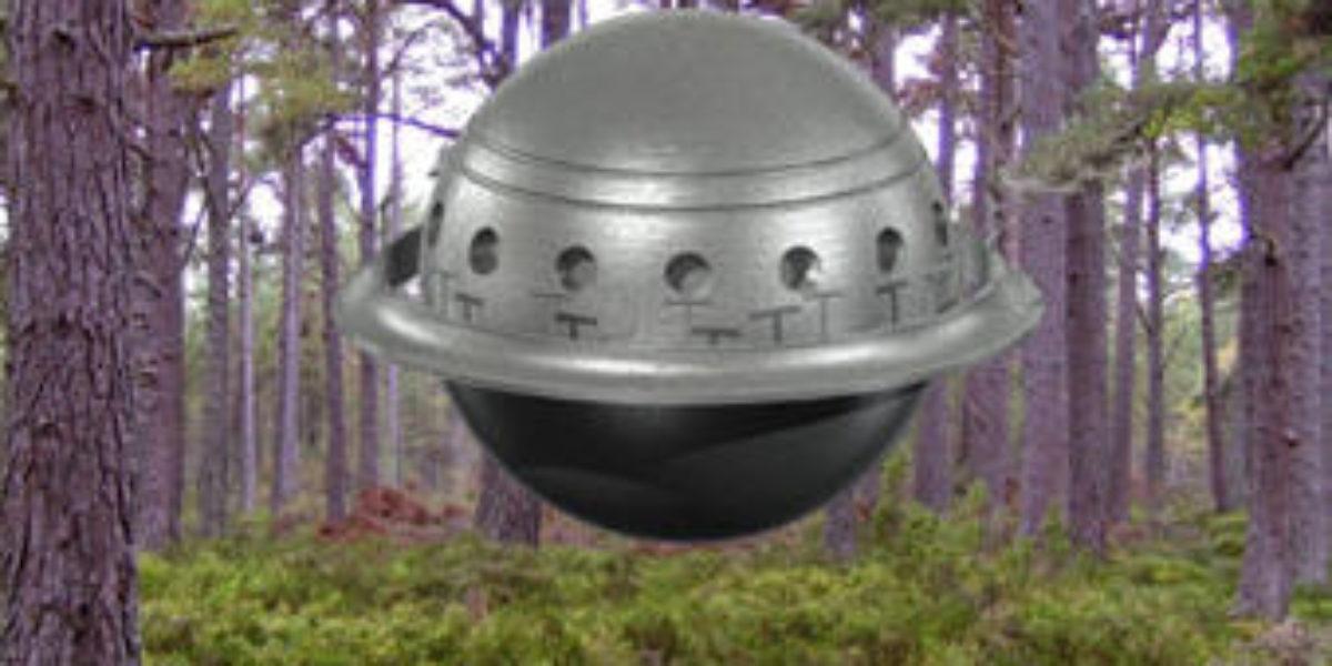 sphere shaped UFO