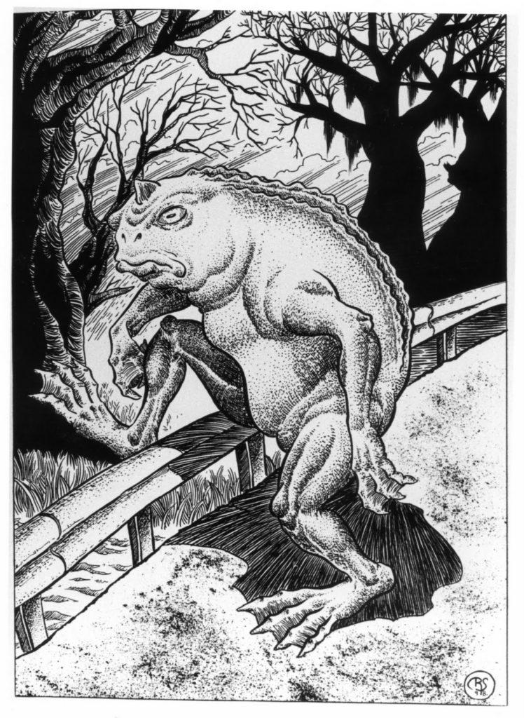 illustration of the loveland frogmen