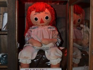 The real demon possessed Anabelle Doll
