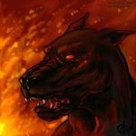 Barghest – The Troller's Gill Hellhound