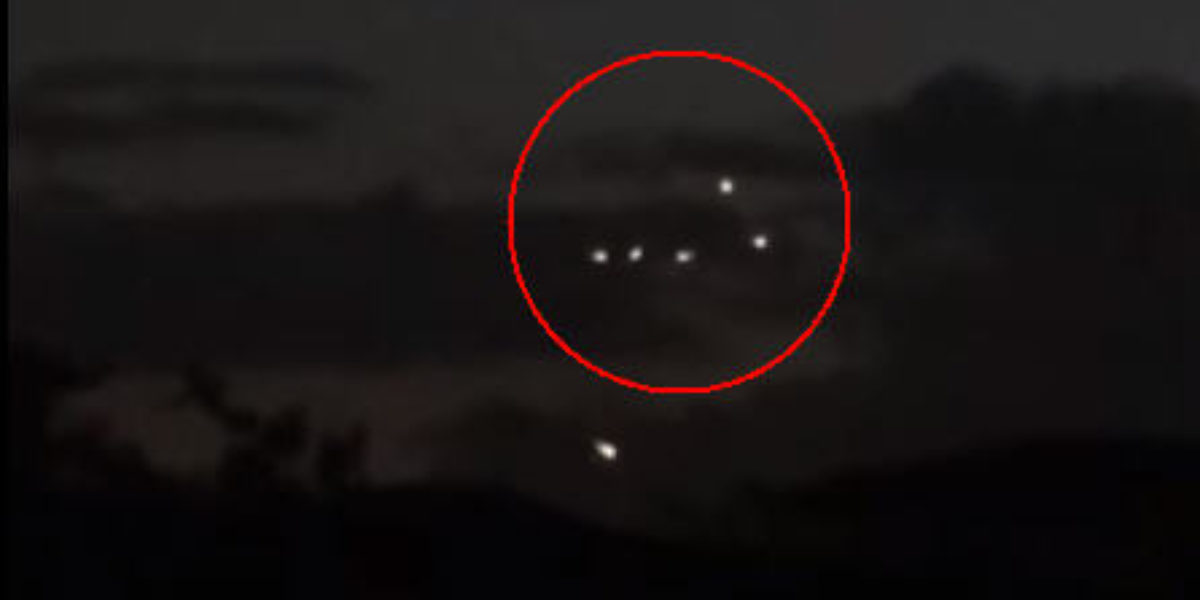 UFOs seen in Florida February