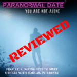 A review of the site paranormaldate.com