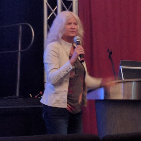 Judy Carroll talks about communicating with Bigfoot at the 2018 Bigfoot Symposium