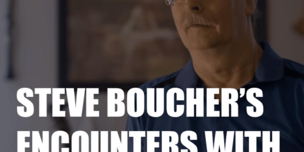 Steve Boucher describes his encounter with aliens