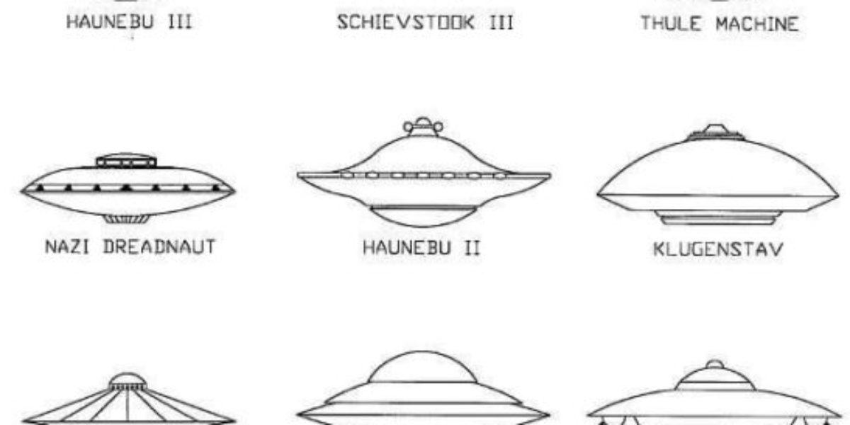 Classic German UFO Shapes