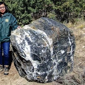 Wizard Rock that has mysteriously reappeared from where it vanished