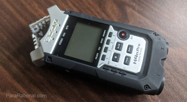Ghost Hunting Tools - professional digital recorder
