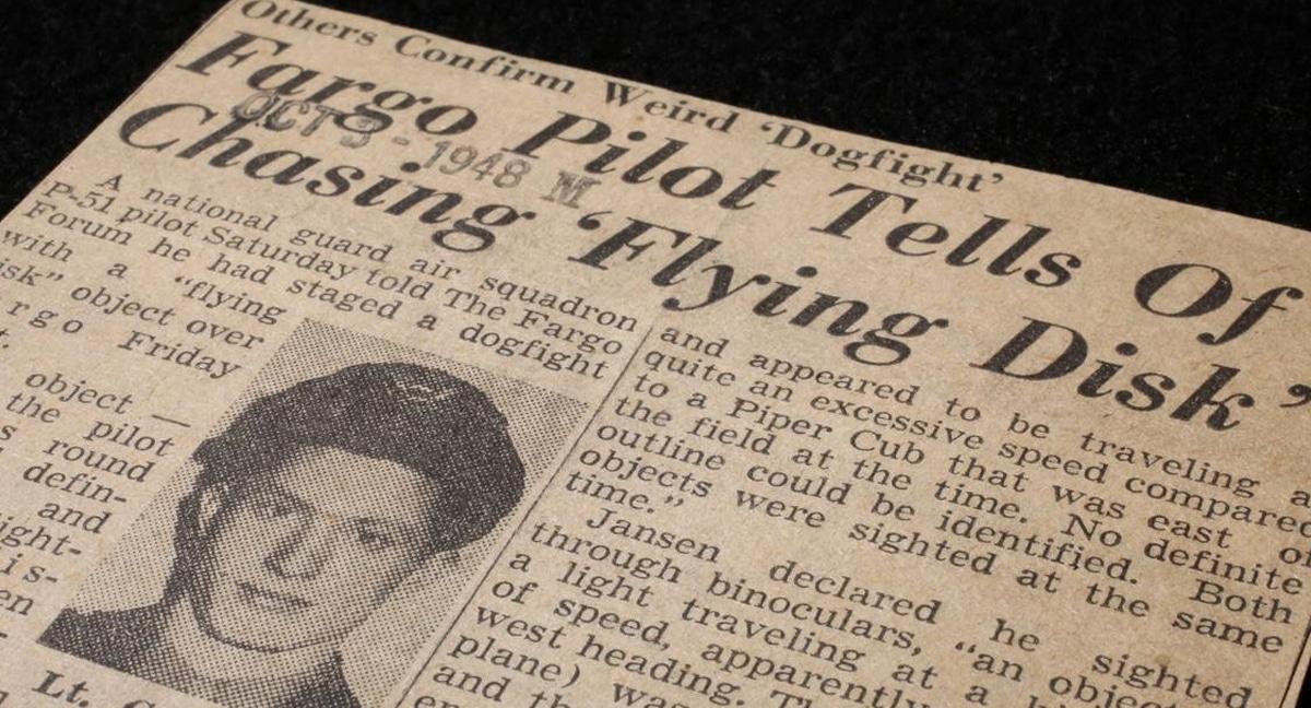 1948 UFO dogfight over North Dakota