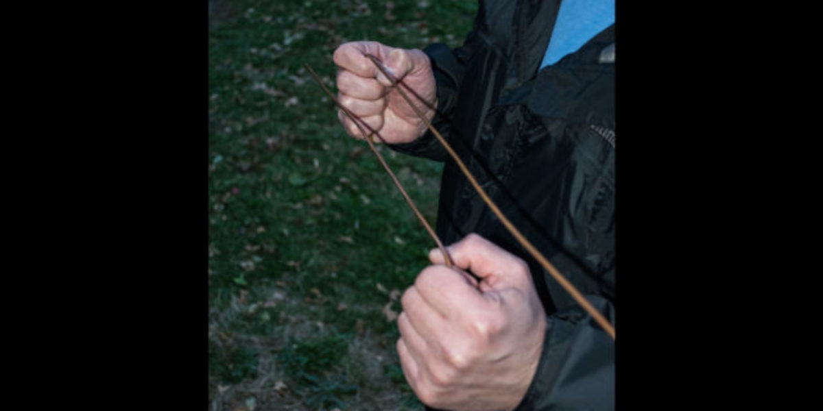 wire Dowsing rods