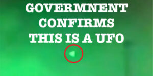 government confirmed pyramid UFOs