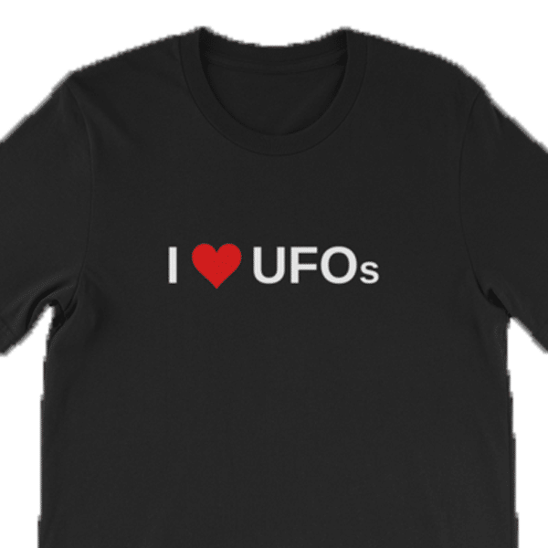 I love UFOs T-shirt